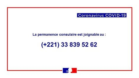 Coronavirus COVID-19 : situation au Sénégal